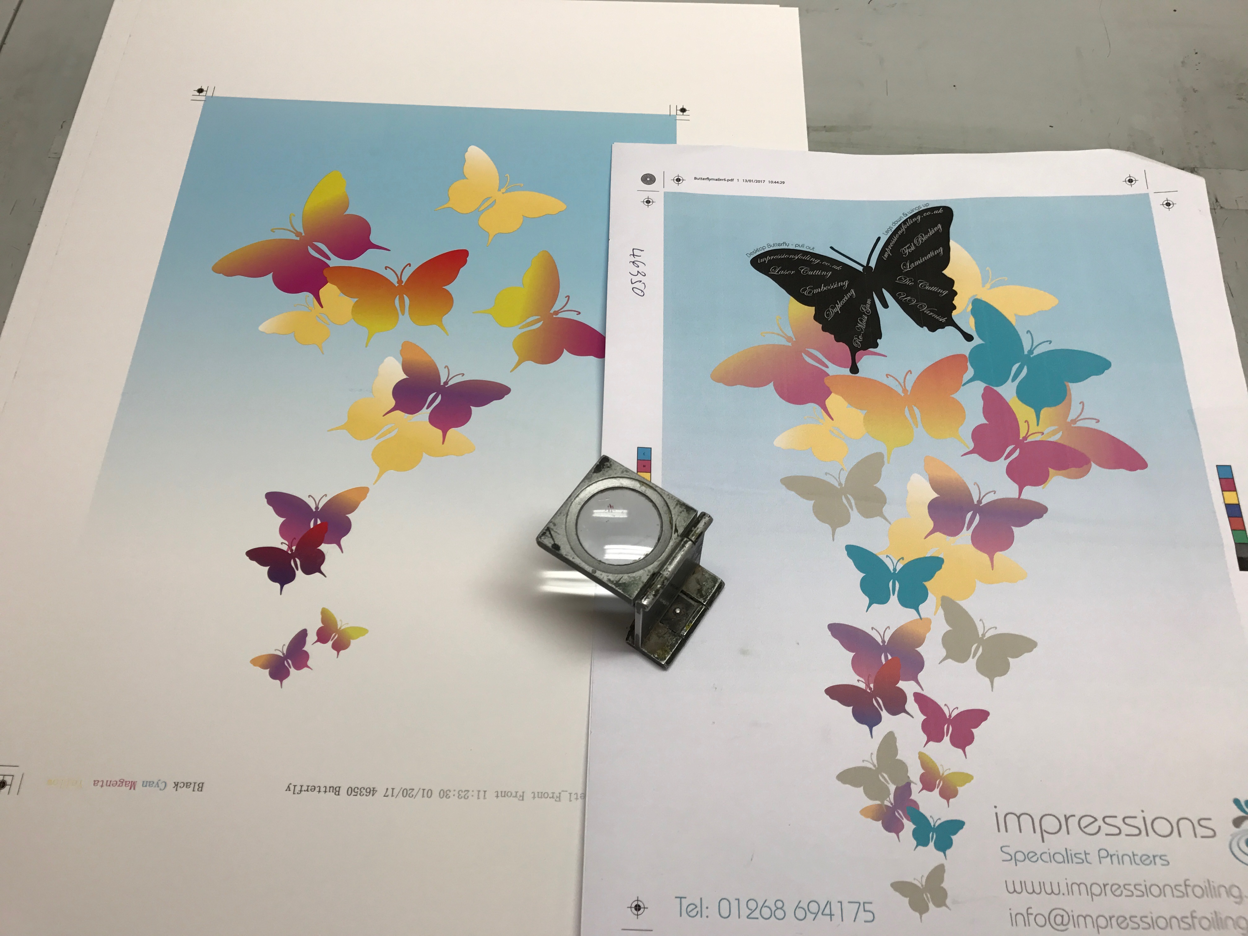 Impressions Mailer @ Litho Stage